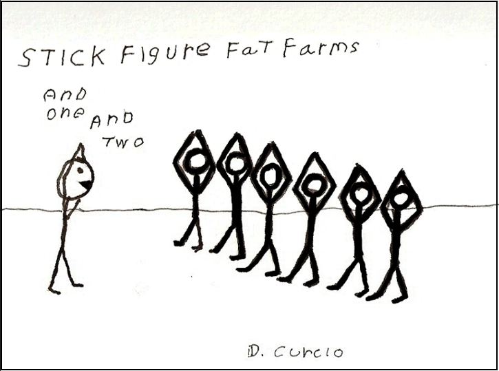 Stick Figure Fat Camps
