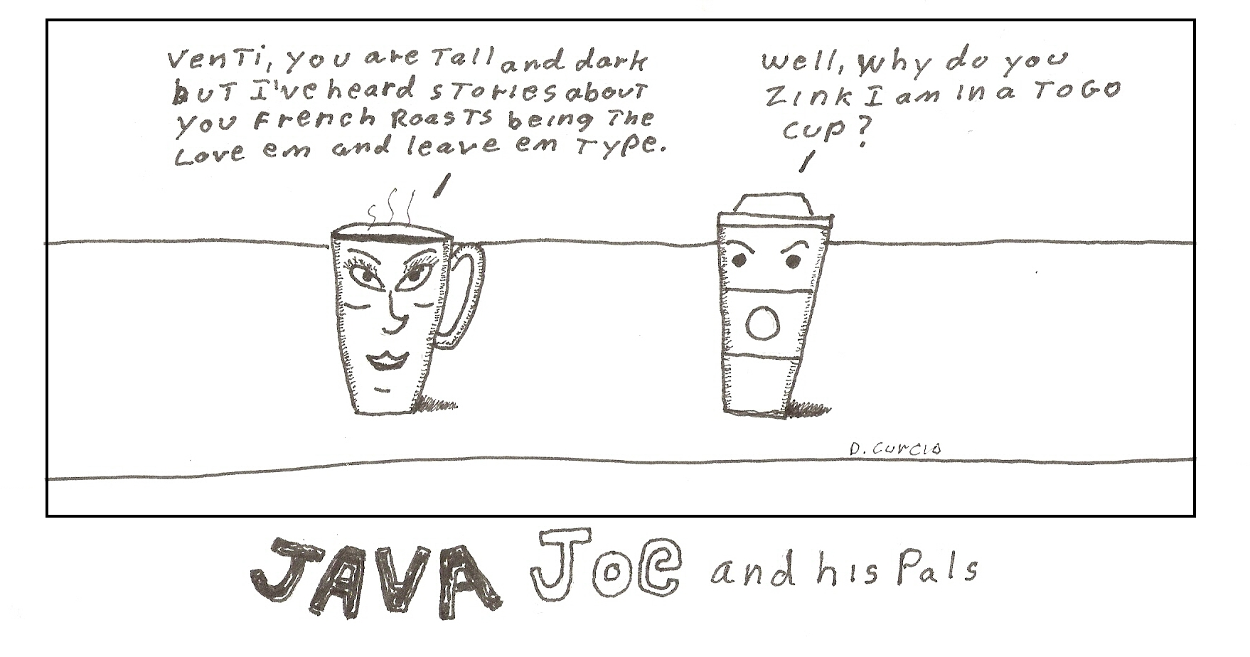 Java Joe Venti 5 End