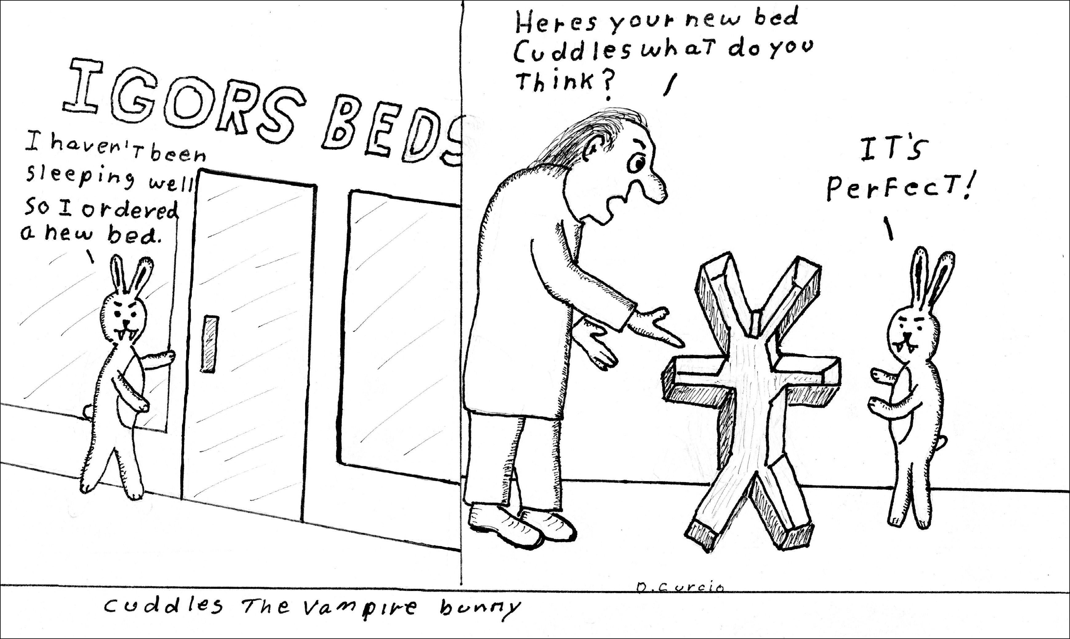Cuddles Bed