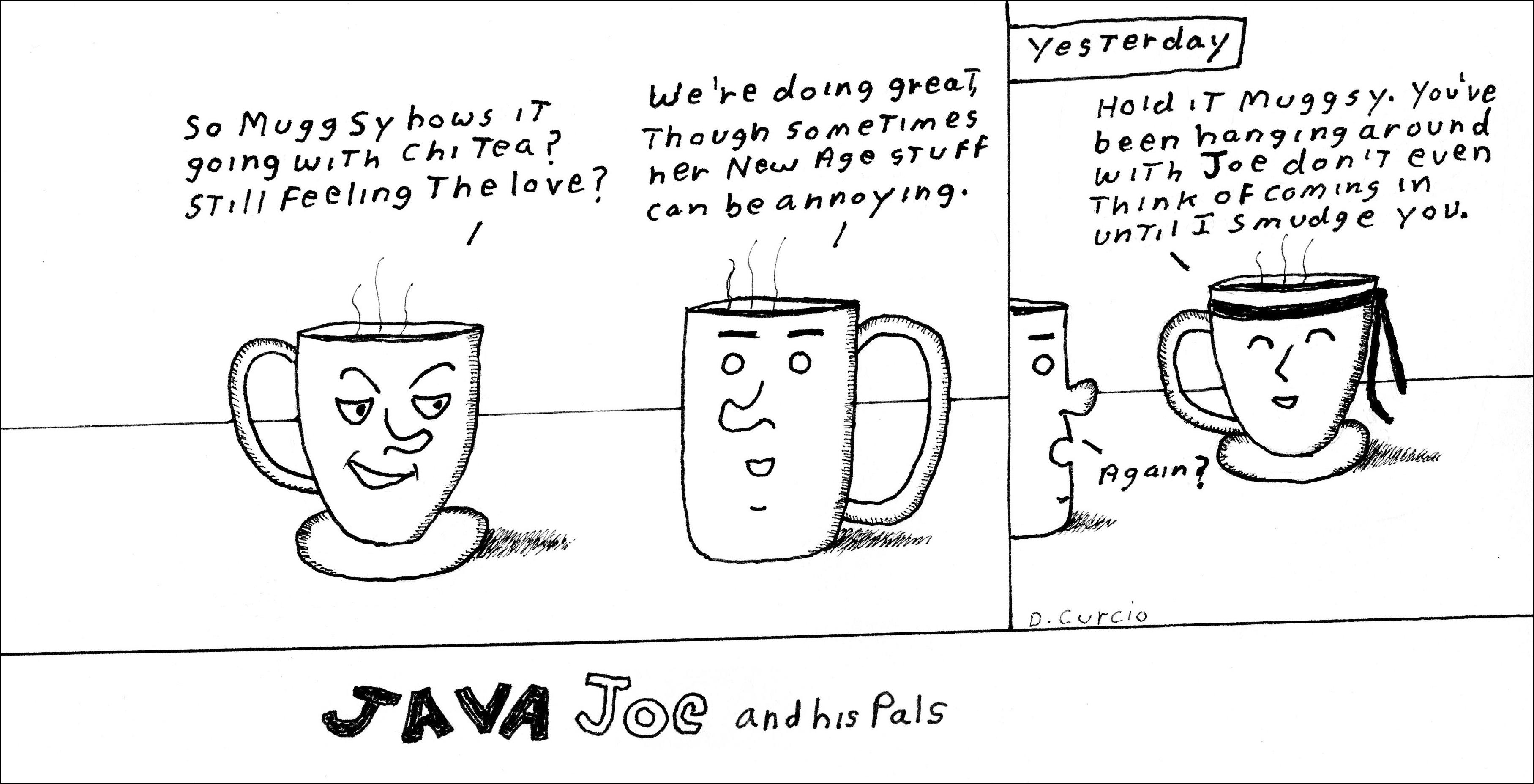 Chi Tea Smudges