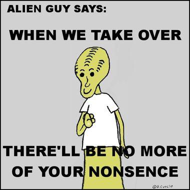 Alien Guy Says