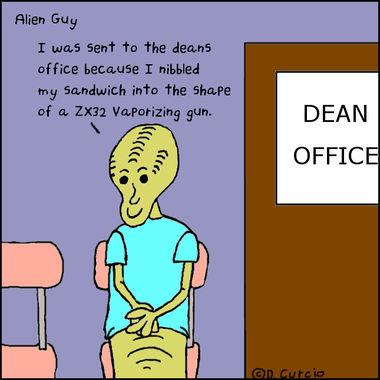 Alien Gun Play