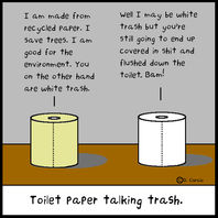 Toiletpaper Trash Talk