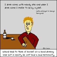 I Drink Alone