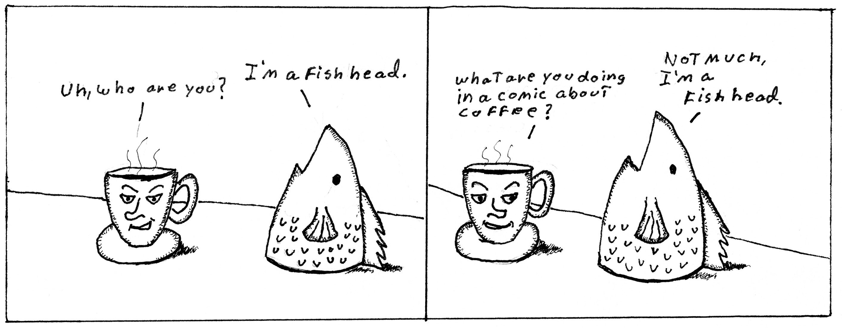 Java Joe Fish Head Part1