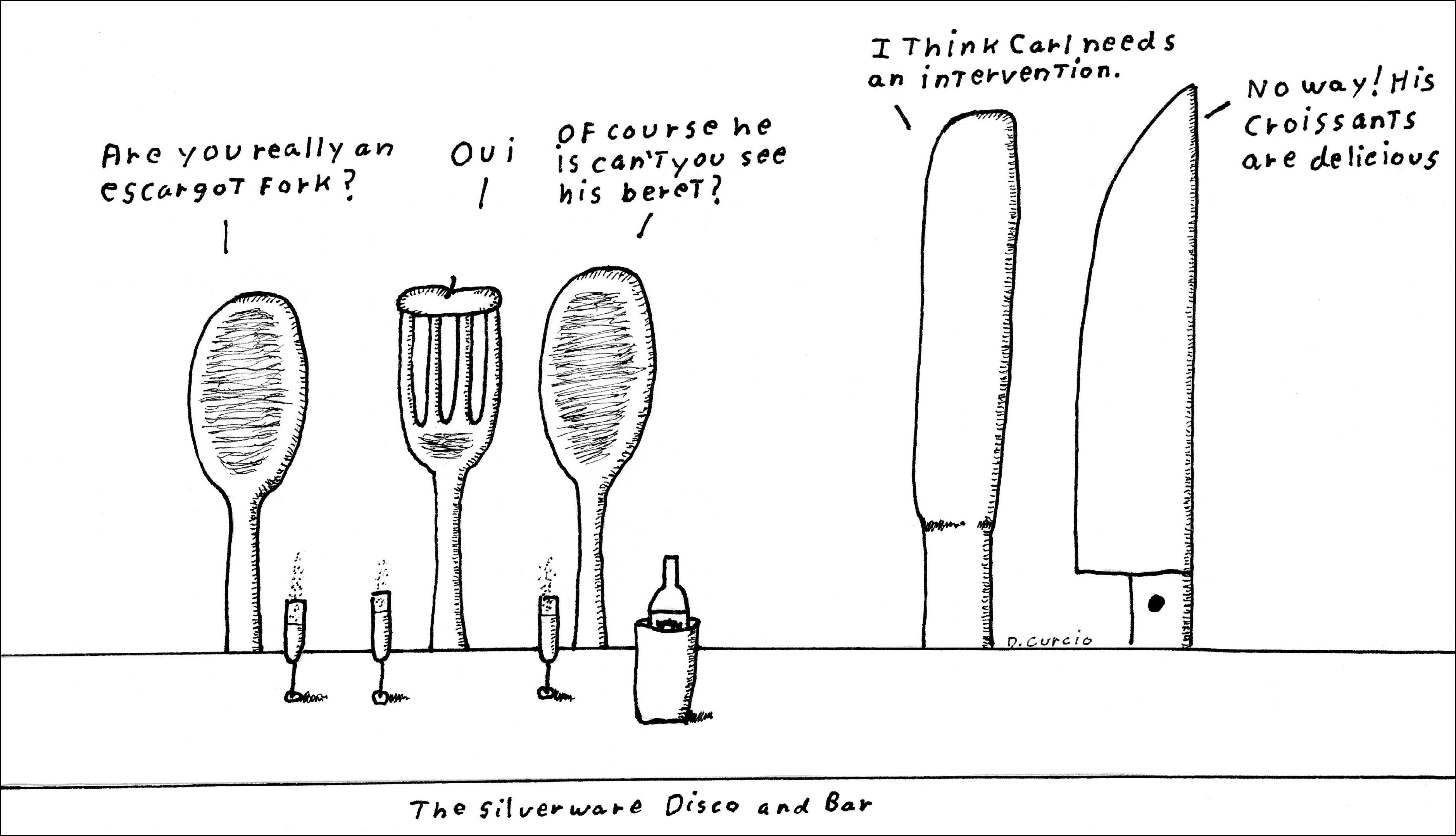 Escargot Fork