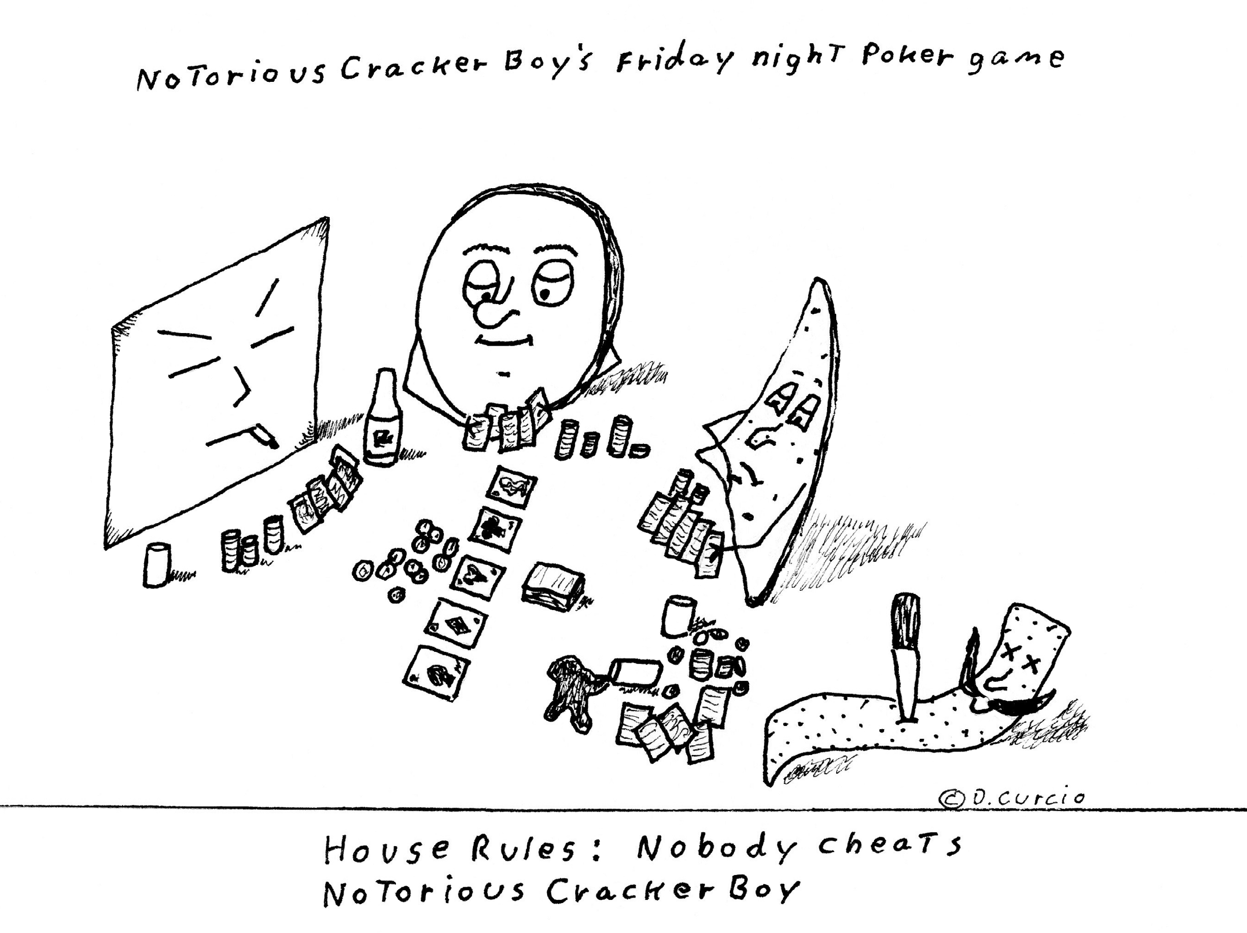 Notorious Cracker Boy Poker Night