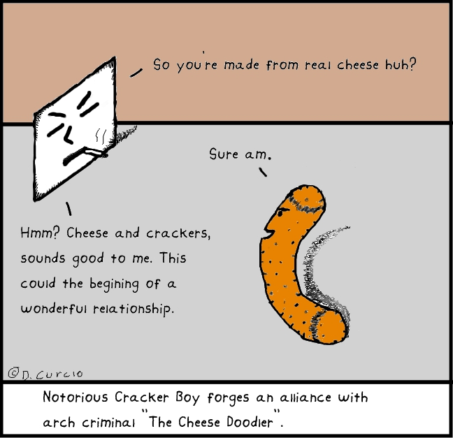 The Cheese Doodler