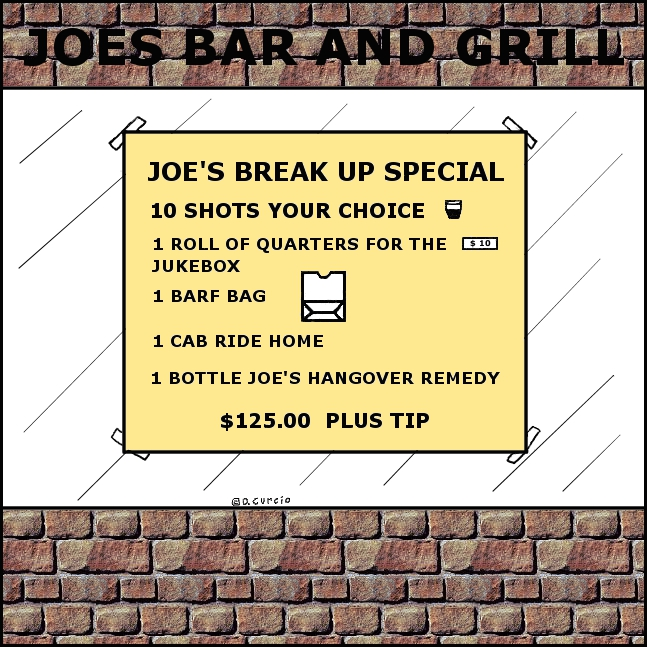 Joe's Break Up Special