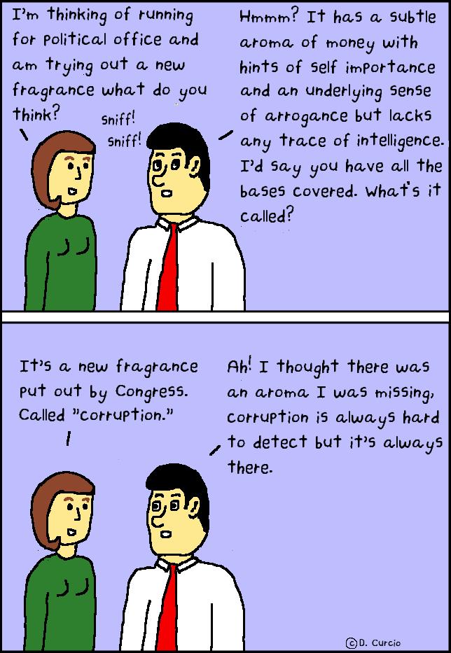 Stinks like a politician