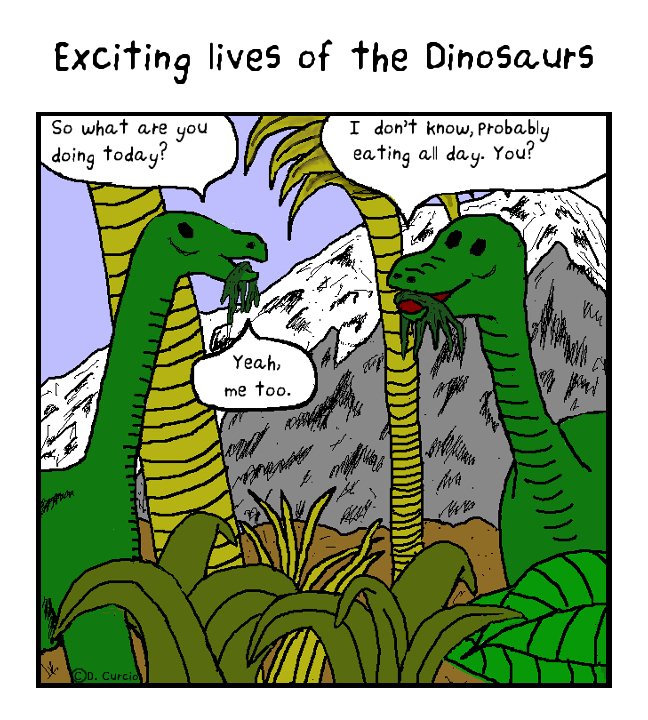 Exciting Lives Of The Dinosaurs