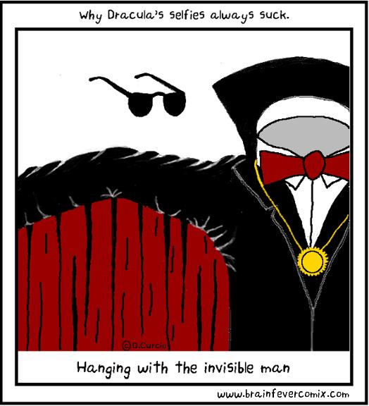 Dracula Selfies