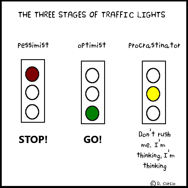 The Three Stages Of Traffic Lights